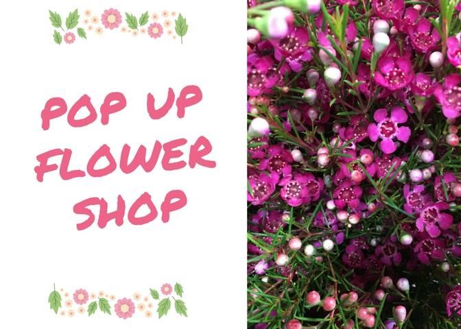 flower shop advertisement