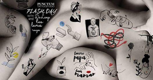 FLASH DAY  De Lange Tattoo & Les Levres Rouges