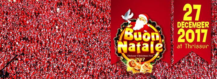 Buon Natale Thrissur.Buon Natale 2017 At Trichur Archdiocese Kerala Trichur