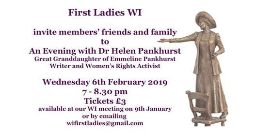 First Ladies WI Barking and Dagenham