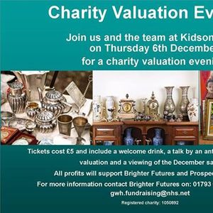 Charity Valuation Evening