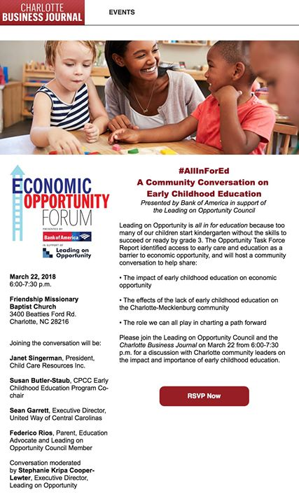 Allinforearlyed Community Conversation On Early Childhood Edu At