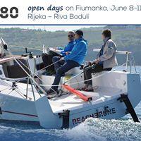 Reacher 780 open days on Fiumanka