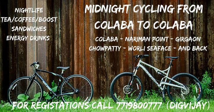 Midnight Cycle Ride - 28th April