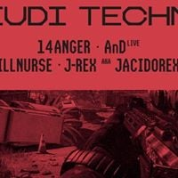 Jeudi Techno  AnD (live)  14anger  J-Rex  Illnurse