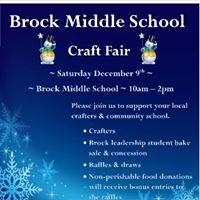 Brock Middle School - Craft Fair