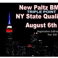 NY State Qualifier August 6th