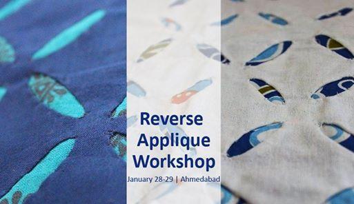 Reverse Applique Workshop