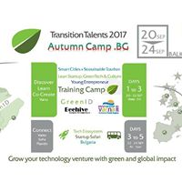 Transition Talents Camp Bulgaria Smart Cities &amp Green Tourism