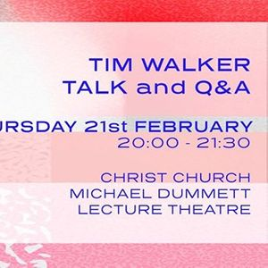 CCAW Tim Walker Talk and Q&ampA