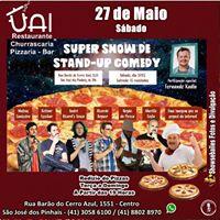 Show de Stand Up Comedy na Uai Pizzaria Churrascaria Bar