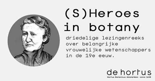Sheroes in botany - Mary Treat