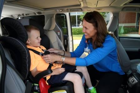 Car Seat Safety Check Event Hudsonville Fire Station