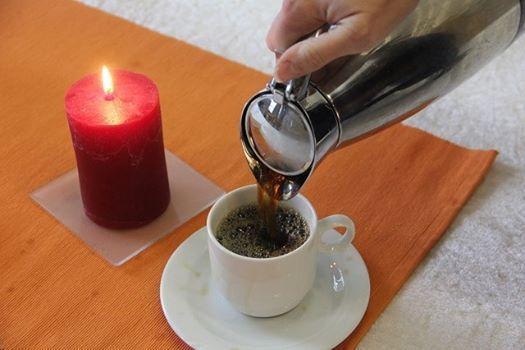 Gudstjeneste og kirkekaffe
