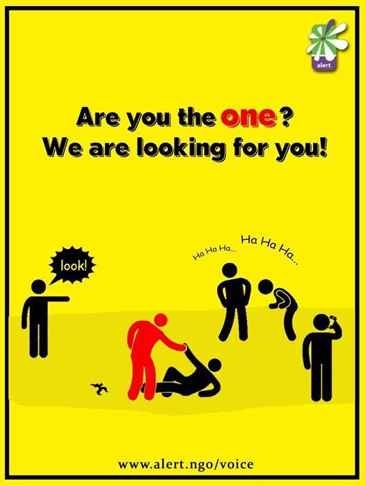 ALERT - VoICE (Volunteer In Case of Emergency)