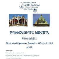 Passeggiate Liberty nella storia di Viareggio