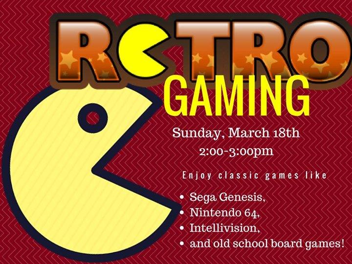 Retro Gaming (Eldridge) at Scott County Library System, Eldridge