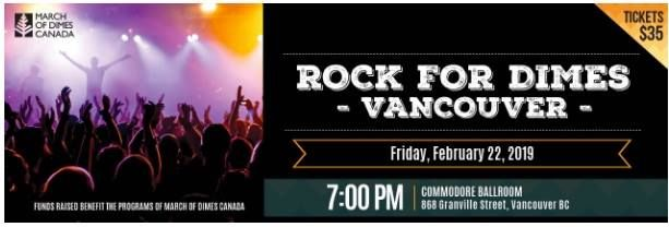Image result for rock for dimes 2019