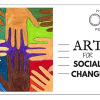 Art for Social Change Sanctuary City Postcard Workshop
