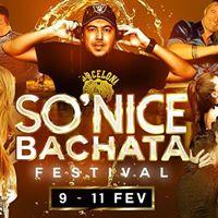 SONice Bachata festival code promo JloCatalina