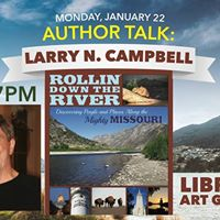 Author Talk Larry N. Campbell