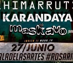 Chimarruts Maskavo y Karandaya en Rosrio (AR)