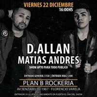 D.allan &amp Matias Andres en Florencio Varela  Show Fin de Ao