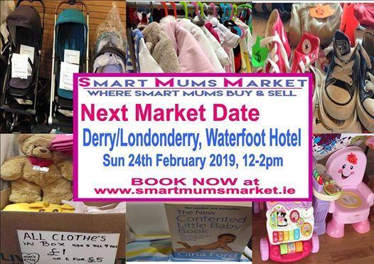 Smart Mums Market Derry Londonderry February