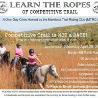 Learn The Ropes Of Competitive Trail