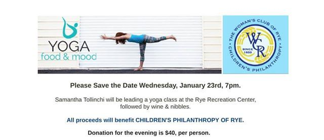 Yoga with Childrens Philanthropy