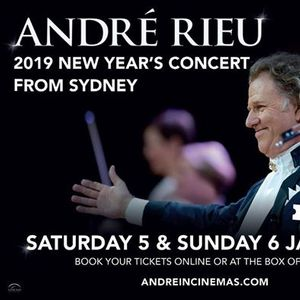 Screenings In The Ballroom Andr Rieus 2019 New Years Concert