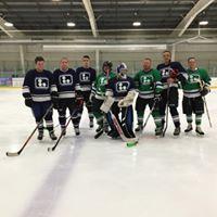 Hartford Braillers Blind Hockey practice