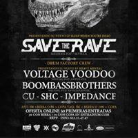 S16 DIC Save the Rave &quotDrumfactory Night&quot SALA M100 (Crdoba)