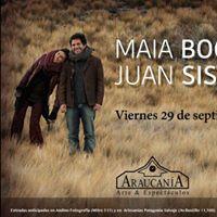 Maia Bogner &amp Juan Sisterna en Araucania
