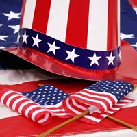 Red White &amp Blue Party and Potluck (Independence Day Party)