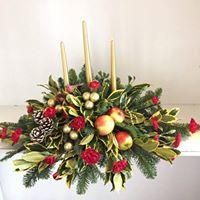 1 Day Christmas Flower Workshop