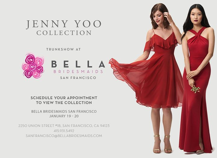 Jenny Yoo 2018 Collection Trunk Show at Bella Bridesmaids  77600682185a