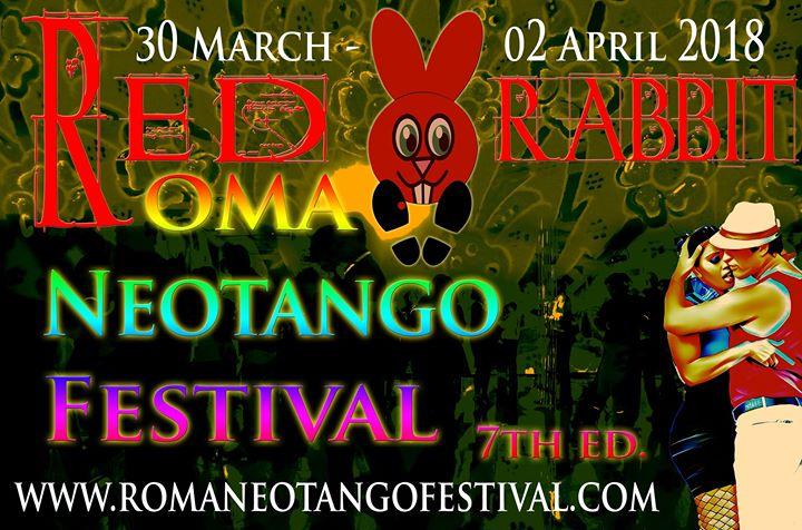 30 March-2 April Red Rabbit Roma Neotango Festival 7th ed.