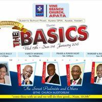 Vine Branch Church Apata 19th Year Anniversary  January 17-21
