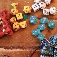 Knit Dice Bag Workshop