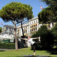 Cours collectifs de yoga dans notre parc