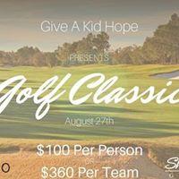 GIVE A KID HOPE Golf Classic Registration