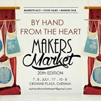 By Hand From The Heart Makers Market Chennai July 2017