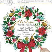 Wreath Painting Workshop