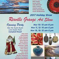 Rexville Grange Holiday Art Show