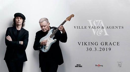 Ville Valo & Agents Viking Gracella 30.3.2019