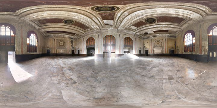 Photography Event at the abandoned 16th Street Train Station in Oakland