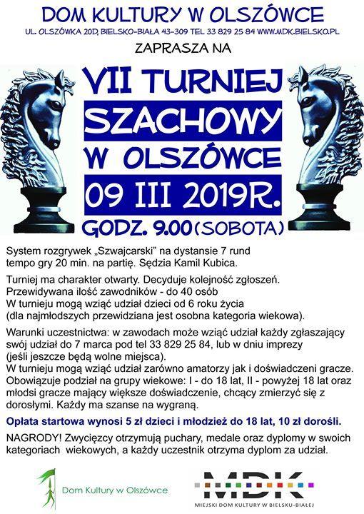 VII Turniej Szachowy w Olszwce