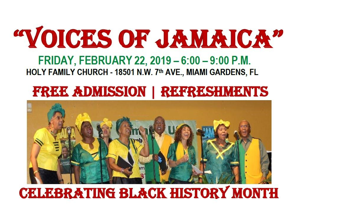 9th Annual Voices of Jamaica Cultural Extravaganza