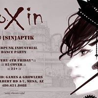 ToXin Industrial Dance Party at The Grid by DJ [Sin]aptik